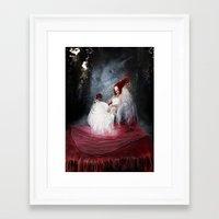 Bride of the earth Framed Art Print