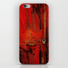 Red Door iPhone & iPod Skin