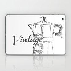 Coffee pot blueprint sketch  Laptop & iPad Skin