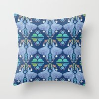 Holy Mola Fish Throw Pillow