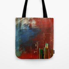 Death of Detriot - Skyline  Tote Bag