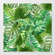 green tropic  Canvas Print