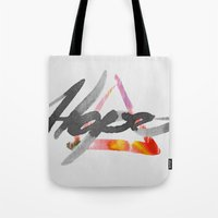 #hope Tote Bag