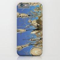 Human cornfield /Maizal humano iPhone 6 Slim Case