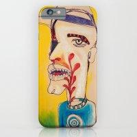 Ronald Harrington / Acrylic and Ink on paper iPhone 6 Slim Case