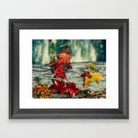 Signs of Autumn Framed Art Print