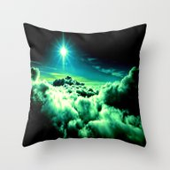 Midnight Clouds Throw Pillow