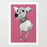 Whipper Art Print