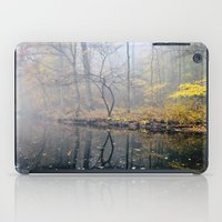 mist on the river iPad Case