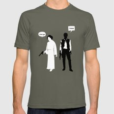 I Love You. I Know Mens Fitted Tee Lieutenant SMALL