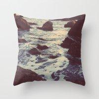 The Sun & The Sea III Throw Pillow