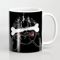 BAD-BLACK-BULLDOG-BONE Mug