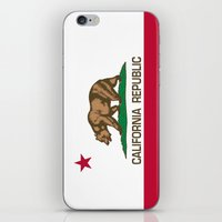 California Republic state flag - Authentic High Quality Version iPhone & iPod Skin