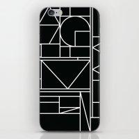 Kaku BW iPhone & iPod Skin