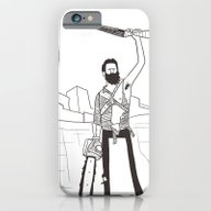 iPhone & iPod Case featuring Hail To The Beard, Baby by Glen O'Neill