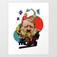 The Diminishing Present Art Print