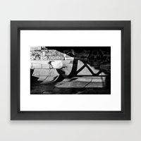 Burnside Skate Park Framed Art Print