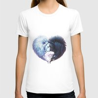 Brotherhood Womens Fitted Tee White SMALL