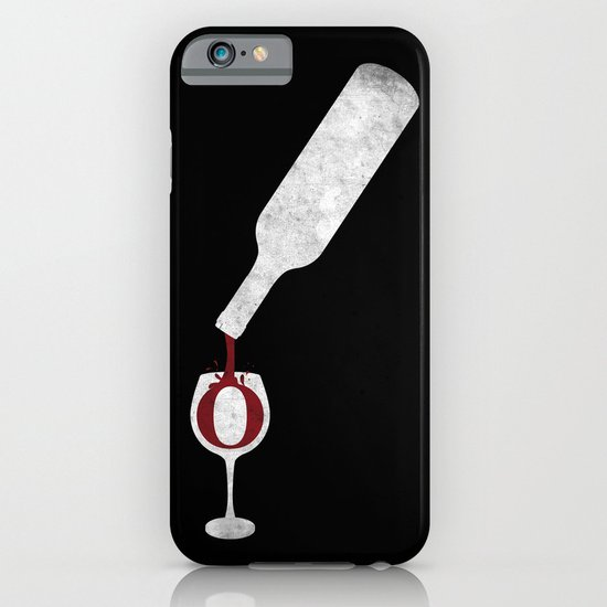 Wine-O (black) iPhone & iPod Case