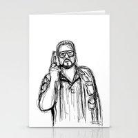 Walter Sobchak Stationery Cards