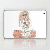 Girl On A Wall Laptop & iPad Skin