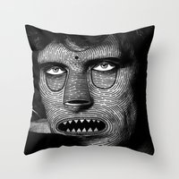 M A S K  Throw Pillow