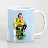 The Legend of Ernie (light background) Mug