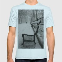Have A Seat Mens Fitted Tee Light Blue SMALL