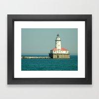 Chicago Lighthouse Framed Art Print