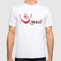 True Blood Minimal Poster 01 Mens Fitted Tee Ash Grey SMALL