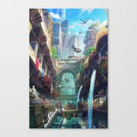 Royal City Escadia  Canvas Print