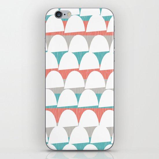 Shroom stripes iPhone & iPod Skin