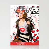 LA FEMME DANS L'AMOUR /// THE WOMAN IN LOVE Stationery Cards