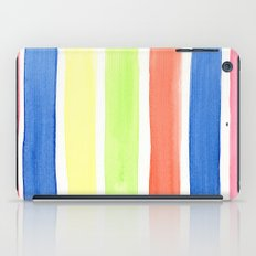 Summer stripes iPad Case