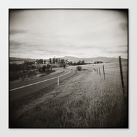{  on the road } Canvas Print