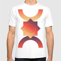 Wake Up Its Morning Mens Fitted Tee White SMALL