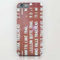 iPhone & iPod Case featuring Trail Miles by NoelleB