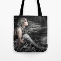 Mermaid At Midnight Tote Bag