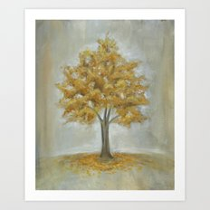 Ginkgo Tree Art Print