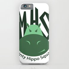 Minty Hippo Squad iPhone 6 Slim Case