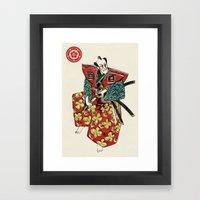 Slice & Dice - Samurai Framed Art Print