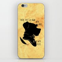 Those That Lie Down With Dogs, Get Up with Fleas iPhone & iPod Skin