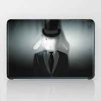 Good-Evening, Mr. Bunny iPad Case