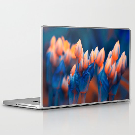 Floral abstract(4). Laptop & iPad Skin