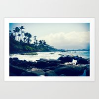 maui north shore hawaii Art Print