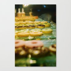 i like donut Canvas Print