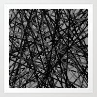 Kerplunk Extended Black … Art Print