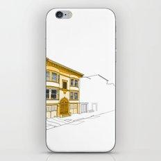 Yellow San Francisco Haus iPhone & iPod Skin