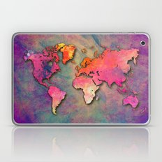 World Map Special 4 Laptop & iPad Skin