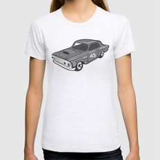 Stock Car 01 - Ted Schmilly Womens Fitted Tee Ash Grey SMALL